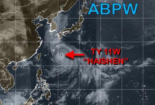 2020台風10号『ハイシェン』発生!【警戒】100年に1度の勢力!