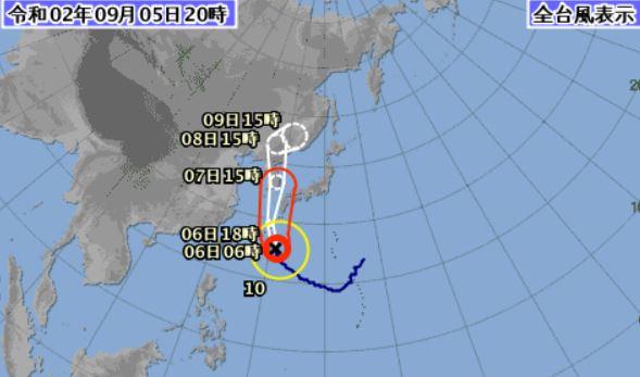 気象庁台風10号